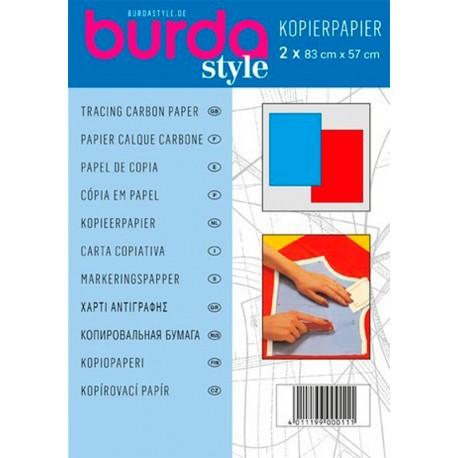Papel de copia Amarillo/Blanco 83x57 cm Burda Style