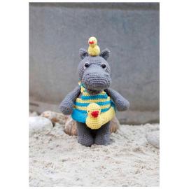 Kit Amigurumi Hipopótamo Helmut