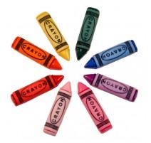 Botones Divertidos Crayon