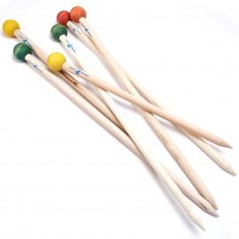 Aiguilles à tricot XXL 60 cm  - 80 cm Loopy Mango