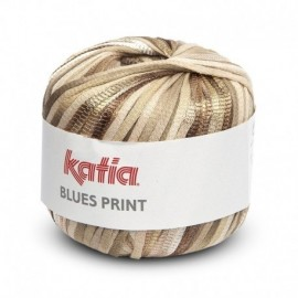 Katia Blues Print