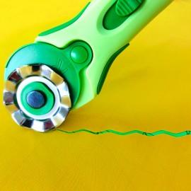 Cuchilla ondulada 45 mm para Cutter Rotatorio Clover