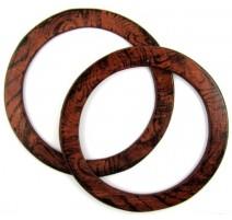 Anses de Sac Circulaires en Bois Hoooked