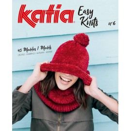 Catalogue Katia Easy Knits Nº 6 - 2017-2018