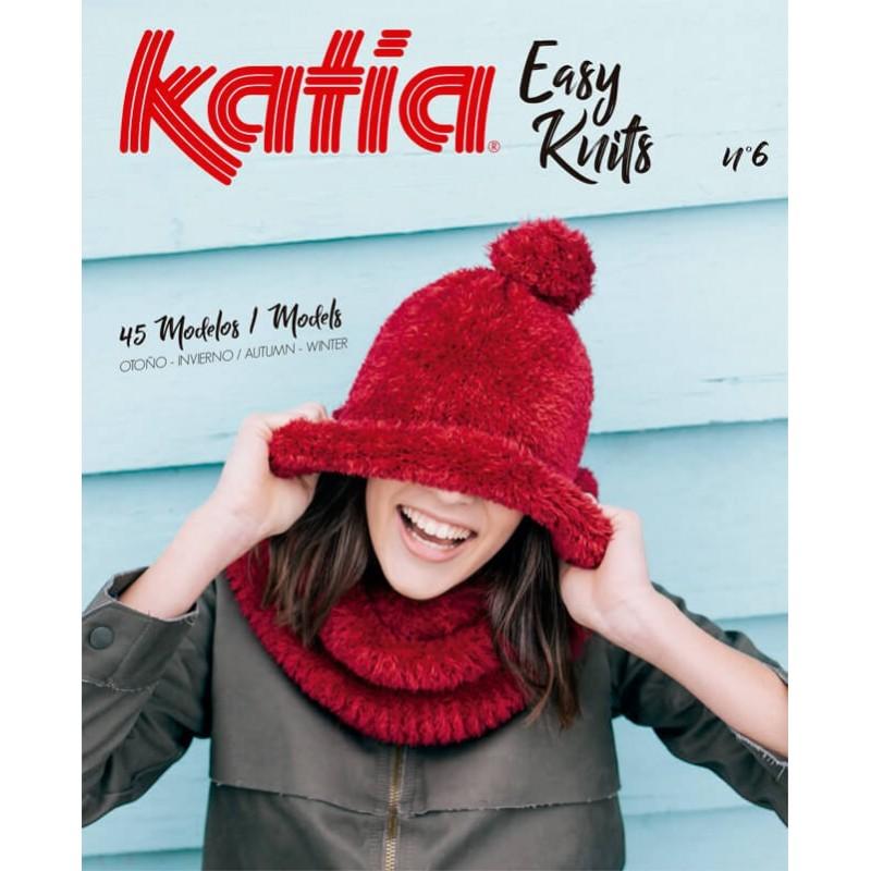 Revista Katia Easy Knits Nº 6 - 2017-2018