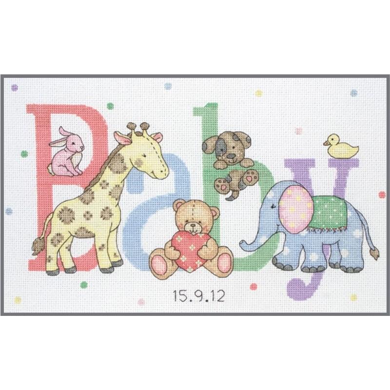 Kit de Punto de Cruz - Baby Animals - Anchor