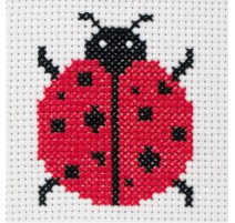 Anchor 1st Kit de Tapisserie - Ladybird