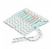 Set de Crochets avec étui de tissu - Scribble Chevron
