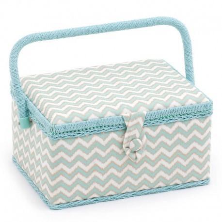 Boîte à couture - Scribble Chevron (Moyenne)