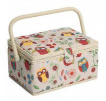Boîte à couture - Hiboux (Moyenne)