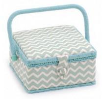 Boîte à couture - Scribble Chevron (Petite)