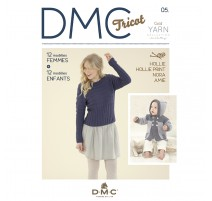 Catalogue DMC Nº 5 Gold Yarn Collection - 2017