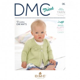 Revista DMC Tricot - N 6 -Baby Knitting Collection