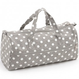 Sac à tricot Polka Dot Grey