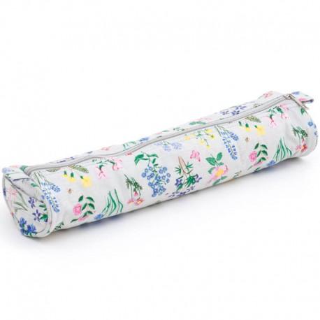 Estuche de tela para agujas tricot - Spring Garden