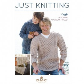 Catalogue DMC Just Knitting - Magnum & Magnum Tweed