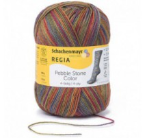 Regia Pebble Stone Color 4-ply