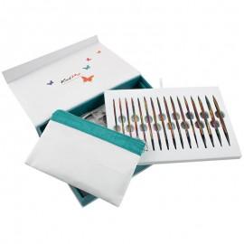 Set de Agujas Circulares Intercambiables - Colours of Life - KnitPro