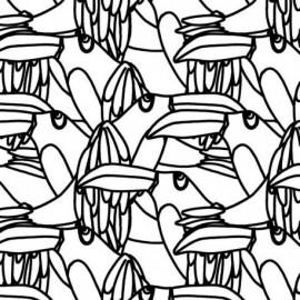 Tissu Katia Canvas Toucan