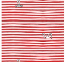 Tissu Katia Sea Crabs Stripes