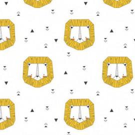 Tissu Katia Origami Lion