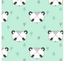 Tissu Katia Origami Panda