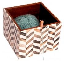 Boîte distributeur de laine KnitPro Pearly