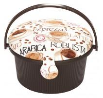 Boîte à couture Cupcake Espresso - Prym