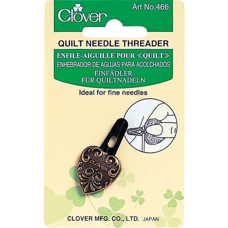 Enhebrador de agujas para acolchados - Clover