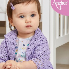 Kit Baby Jacket Lily - Anchor