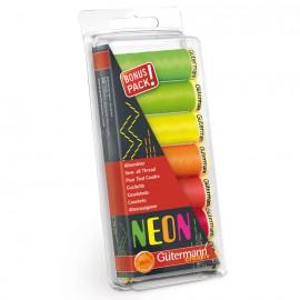 Set de Hilos Coselotodo Neon - Gutermann
