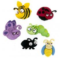 Botones Bug Eyed - Dress It Up