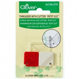 Enfile-aiguilles avec coupe-fils - Clover