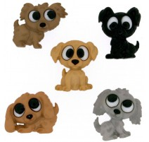 Boutons Playful Puppies - Dress It Up