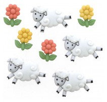 Boutons Counting Sheep - Dress It Up