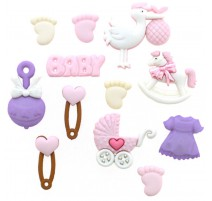 Boutons New Arrival-Girl - Dress It Up