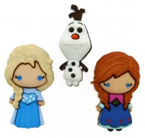 Boutons Frozen Elsa, Anna & Frozen - Dress It Up