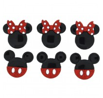 Boutons Mickey and Minnie - Dress It Up