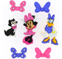 Boutons Minnie Bowtique - Dress It Up