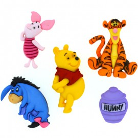 Boutons Winnie The Pooh - Dress It Up