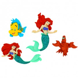Boutons The Little Mermaid - Dress It Up