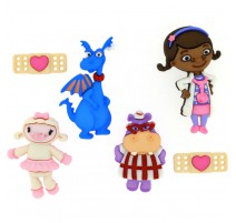 Boutons Doc Mcstuffins - Dress It Up