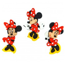 Boutons Minnie Mouse - Dress It Up