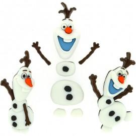 Boutons Frozen - Dress It Up