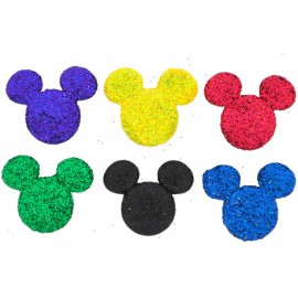 Botones Glitter Mickey - Dress It Up