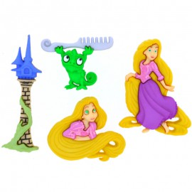 Boutons Rapunzel - Dress It Up