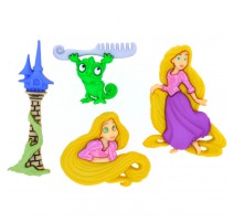 Boutons Rapunzel - Dress It Up