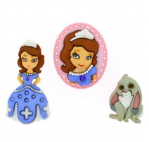 Boutons Sofia The First - Dress It Up