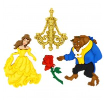 Boutons Beauty and Beast - Dress It Up