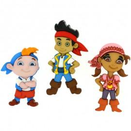 Boutons Jake and the Neverland Pirates - Dress It Up